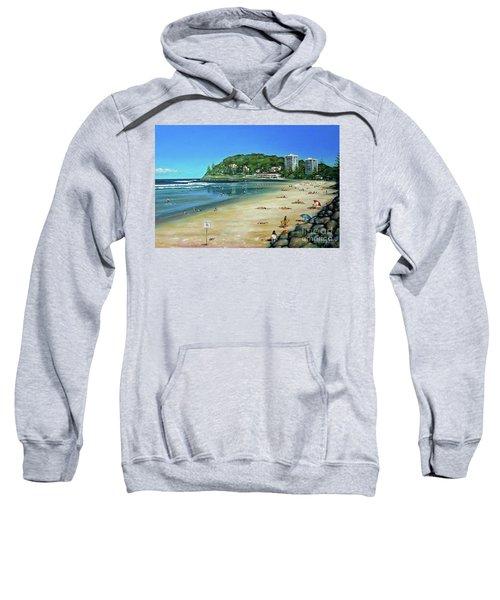 Burleigh Beach 100910 Sweatshirt
