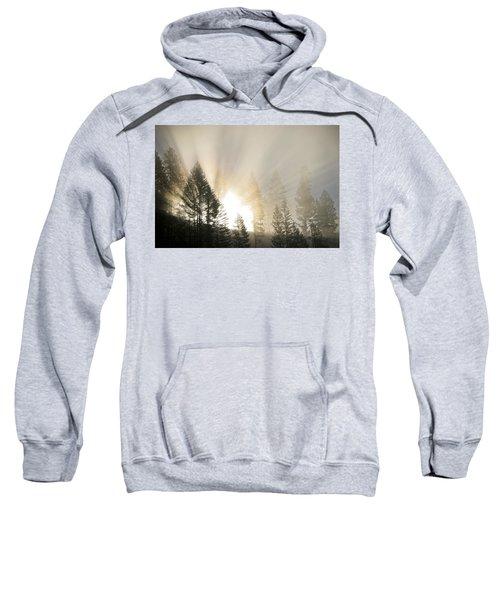 Burning Through The Fog Sweatshirt