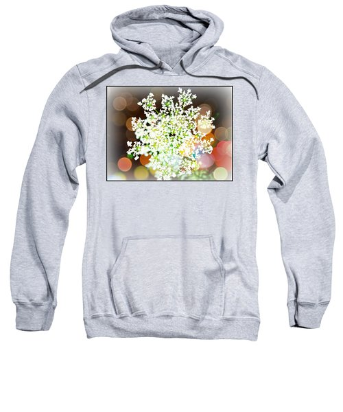 Burst Of Light Kaleidoscope Sweatshirt