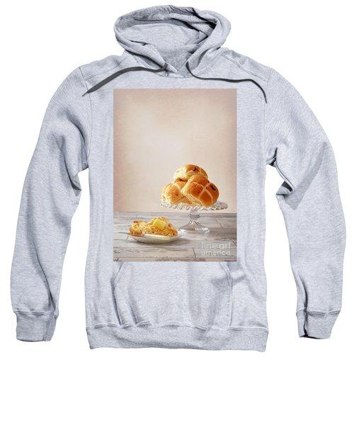 Buttered Hot Cross Bun Sweatshirt