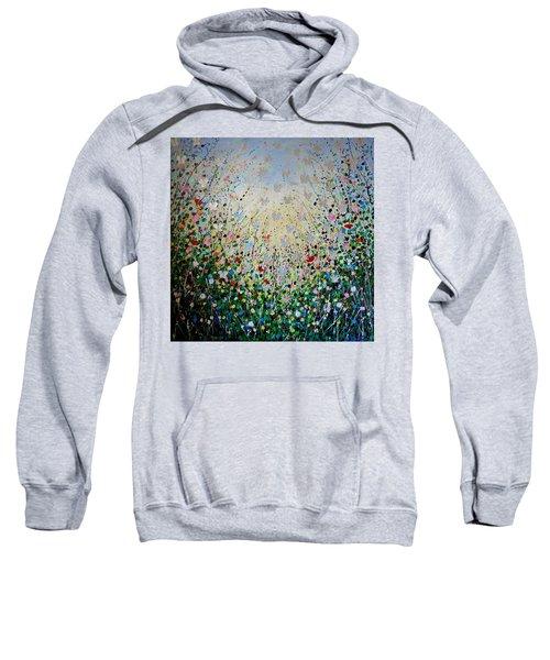 Butterflies- Large Work Sweatshirt