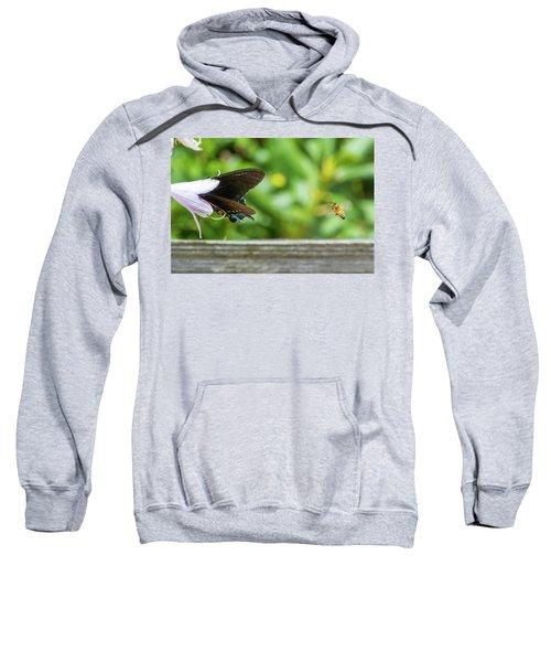 Butterfly And Bee Sweatshirt