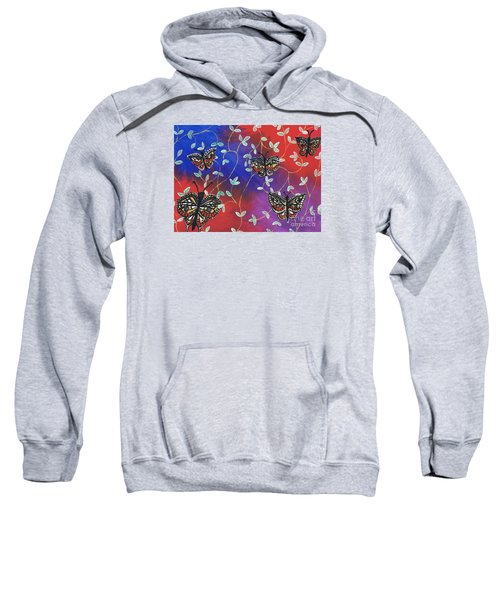 Butterfly Family Tree Sweatshirt