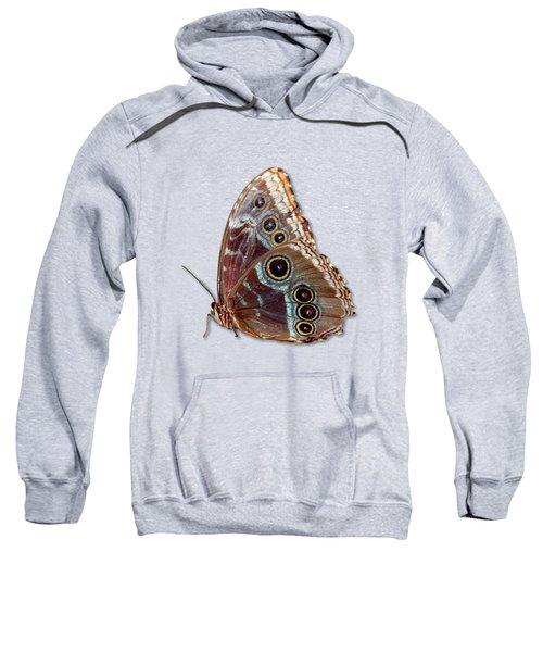Butterfly Macro Sweatshirt