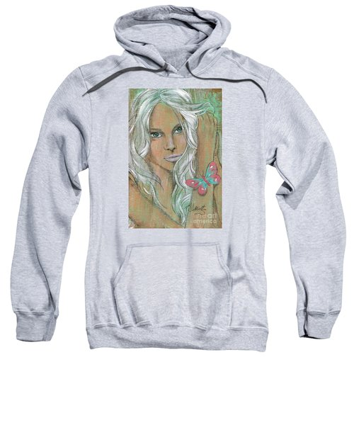 Butterfly Sweatshirt by P J Lewis