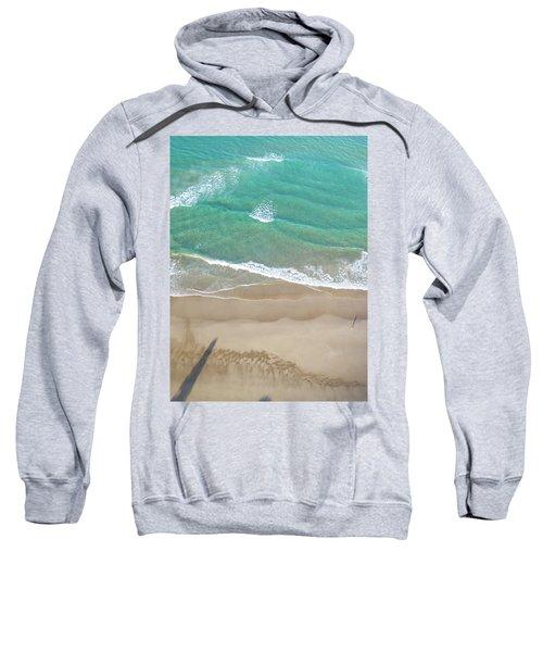 Sweatshirt featuring the photograph Byron Beach Life by Chris Cousins