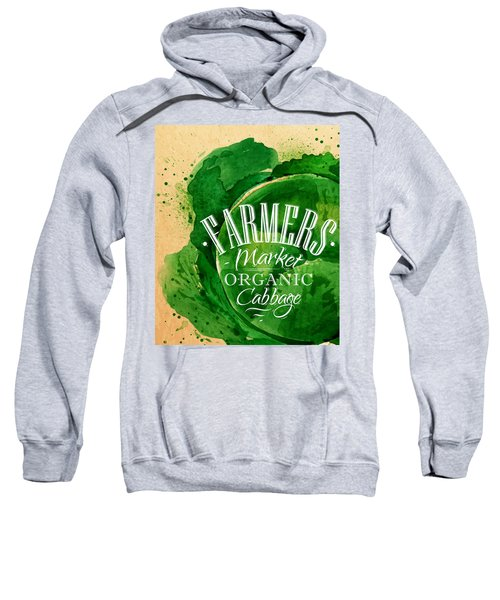 Cabbage Sweatshirt by Aloke Creative Store