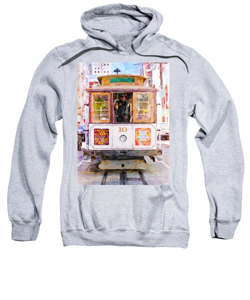 Cable Car No. 10 Sweatshirt