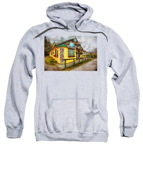 Cafe Cups Sweatshirt