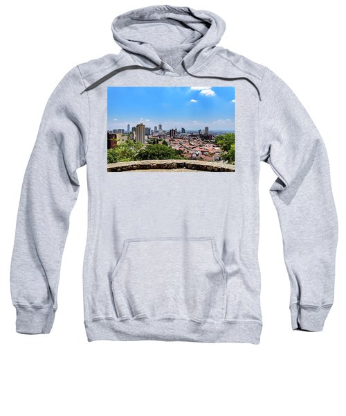Cali Skyline Sweatshirt by Randy Scherkenbach