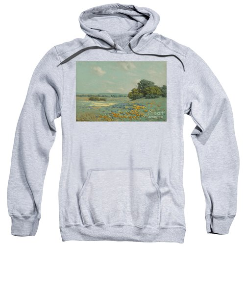 California Poppy Field Sweatshirt