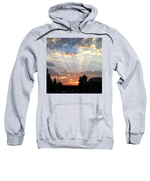 #california #sunset #nature Sweatshirt