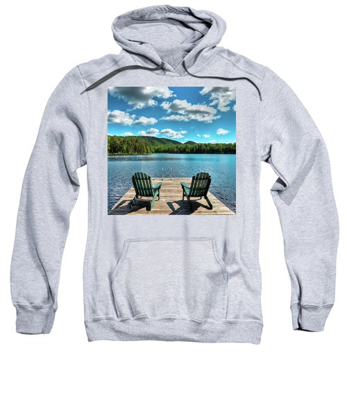 Calm In The Adirondacks Sweatshirt