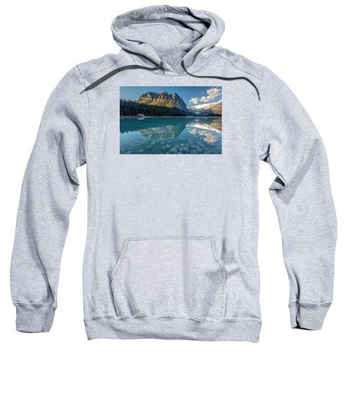 Calm Lake Louise Reflection Sweatshirt