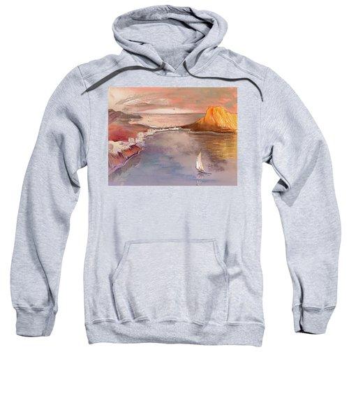 Calpe At Sunset Sweatshirt