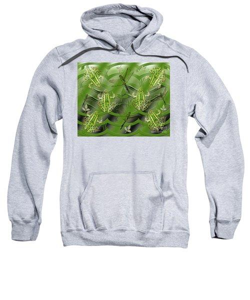 Camo Frog Dragonfly Sweatshirt