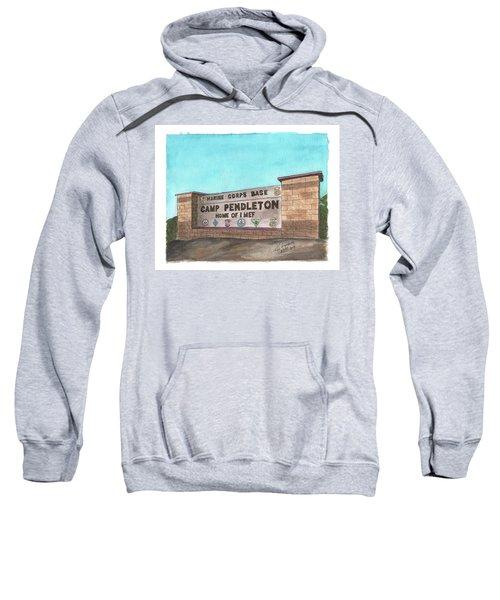 Camp Pendleton Welcome Sweatshirt