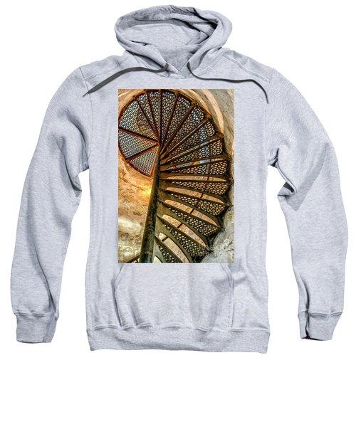 Cana Island Lighthouse Staircase Sweatshirt