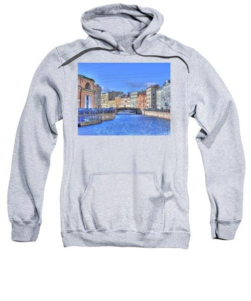 Canal In St. Petersburgh Russia Sweatshirt