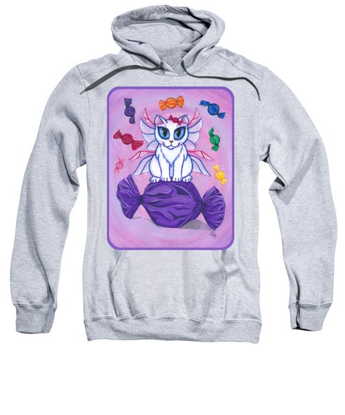 Candy Fairy Cat, Hard Candy Sweatshirt