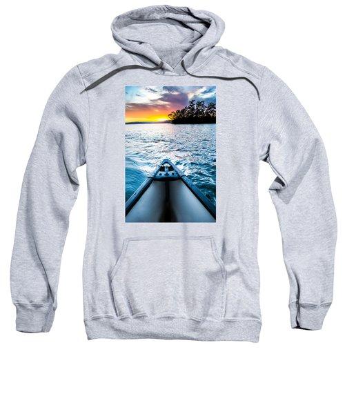 Canoeing In Paradise Sweatshirt