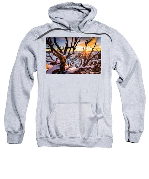 Canyonlands Winter Sunset Sweatshirt