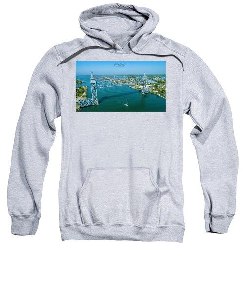 Cape Cod Canal Suspension Bridge Sweatshirt