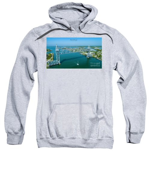 Cape Cod Canal Suspension Bridge Sweatshirt