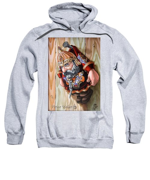 Captive Dwarf In Tiger Suit Sweatshirt