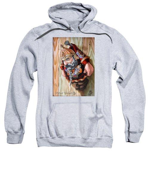 Captive Dwarf In Tiger Suit Sweatshirt