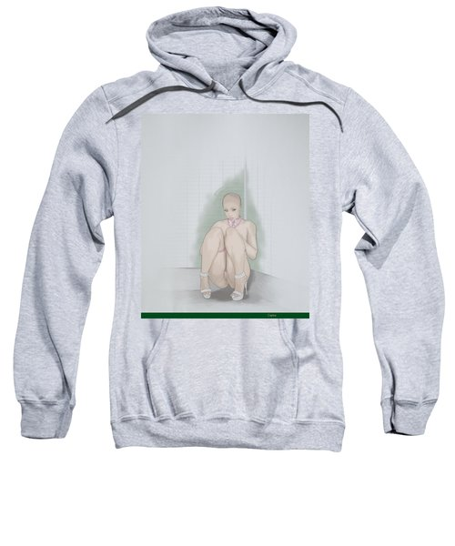 Sweatshirt featuring the mixed media Captive by TortureLord Art