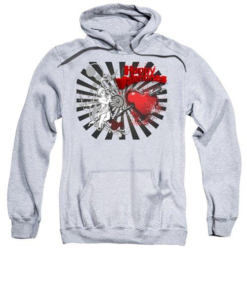 Card Valentine Cherub Sweatshirt
