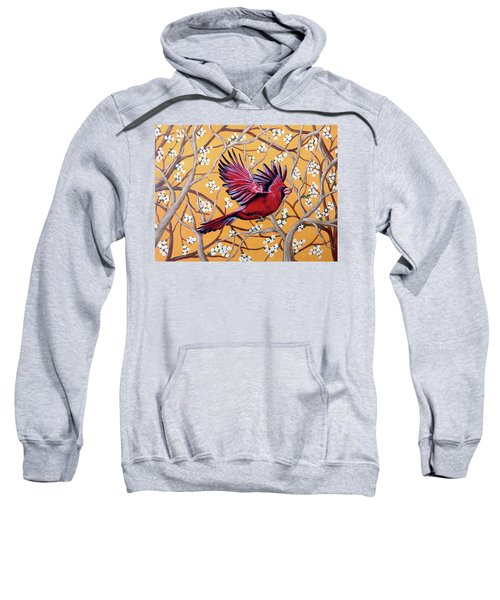 Cardinal In Flight Sweatshirt