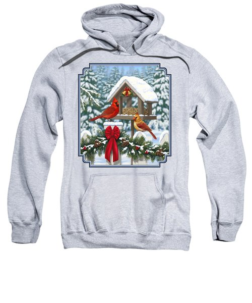 Cardinals Christmas Feast Sweatshirt