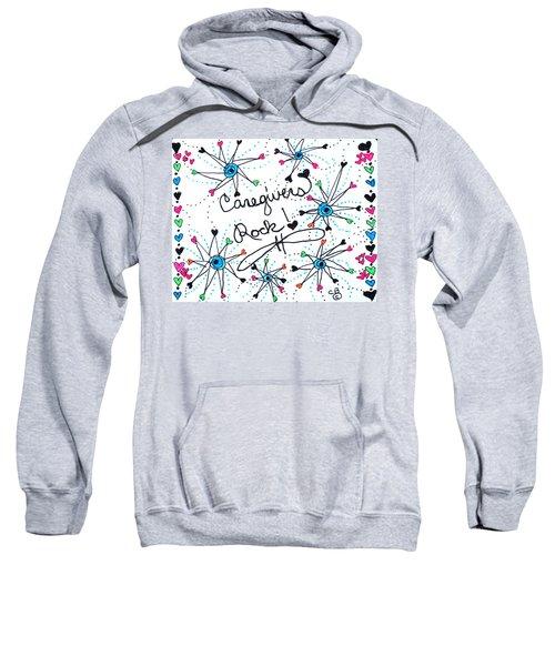 Caregivers Rock Sweatshirt