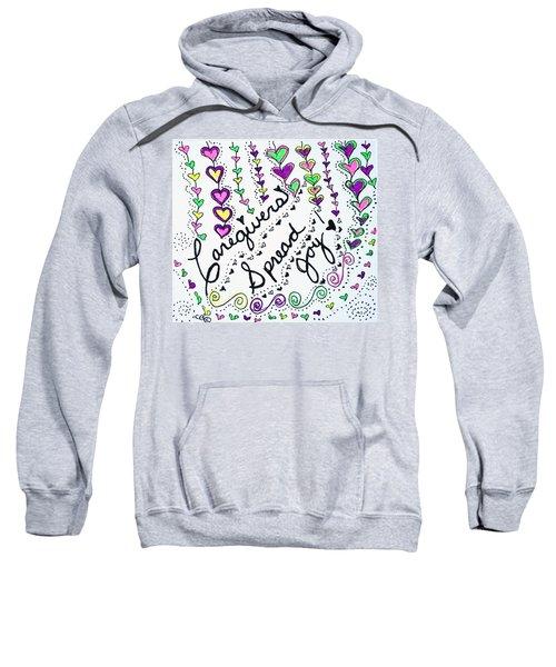 Caregivers Spread Joy Sweatshirt