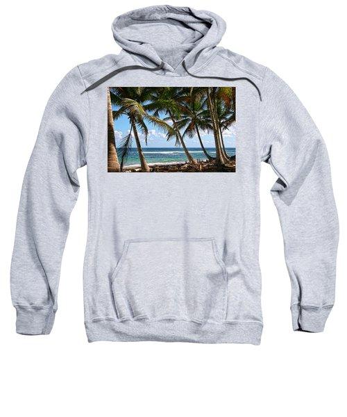 Caribbean Palms Sweatshirt