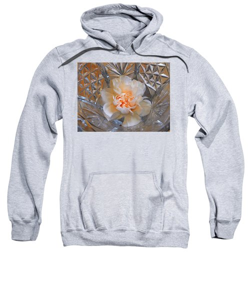 Carnation In Cut Glass 7 Sweatshirt