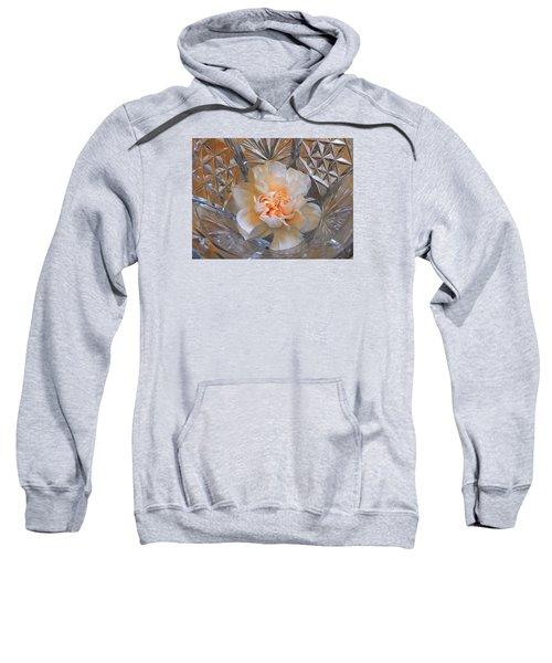 Carnation In Cut Glass 7 Sweatshirt