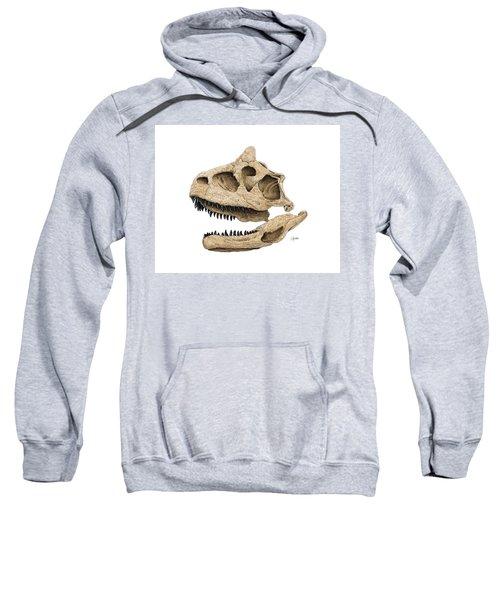 Carnotaurus Skull Sweatshirt