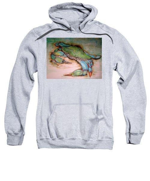 Carolina Blue Crab Sweatshirt