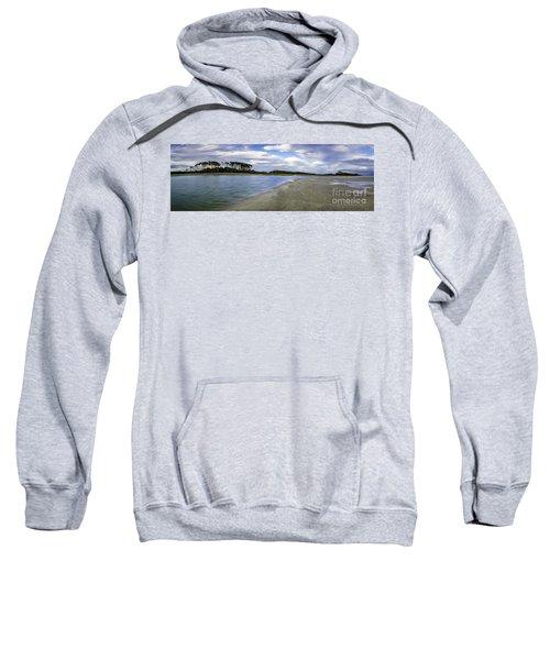 Carolina Inlet At Low Tide Sweatshirt
