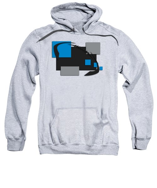 Carolina Panthers Abstract Shirt Sweatshirt by Joe Hamilton