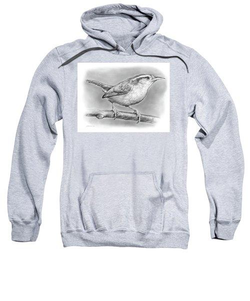Carolina Wren Sweatshirt by Greg Joens