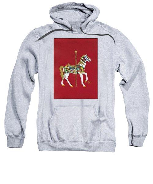 Carousel Horse #2 Sweatshirt