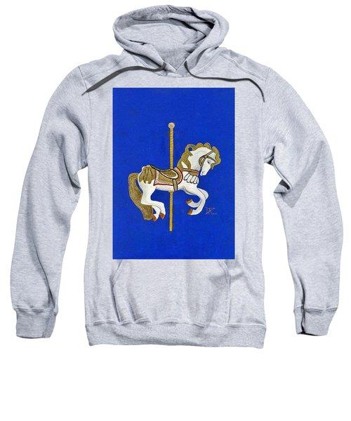 Carousel Horse #3 Sweatshirt