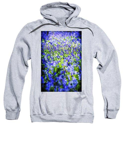 Carpet Of Blue Sweatshirt