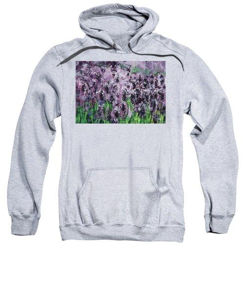 Carpet Of Lavender Sweatshirt