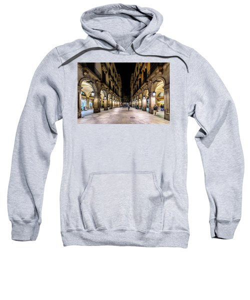 Carrer De Colom Sweatshirt by Randy Scherkenbach