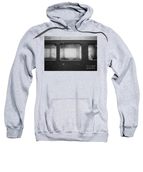 Sweatshirt featuring the photograph Carriage by MGL Meiklejohn Graphics Licensing